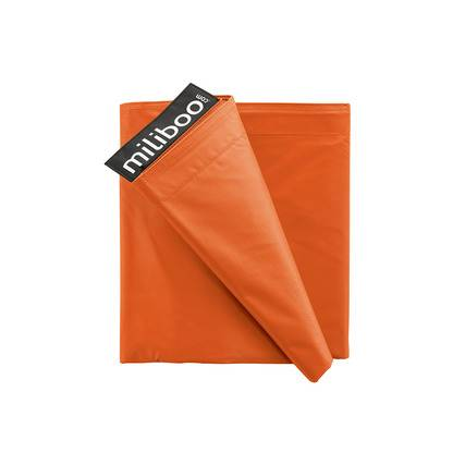 Miliboo Housse de pouf géant orange BIG MILIBAG