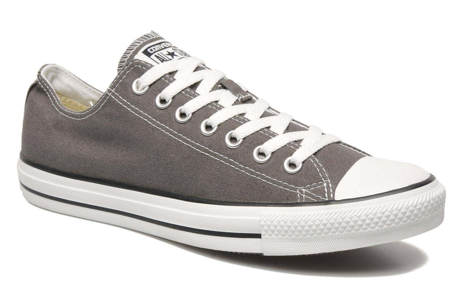 Converse Chuck Taylor All Star Ox M - Baskets Homme, Gris
