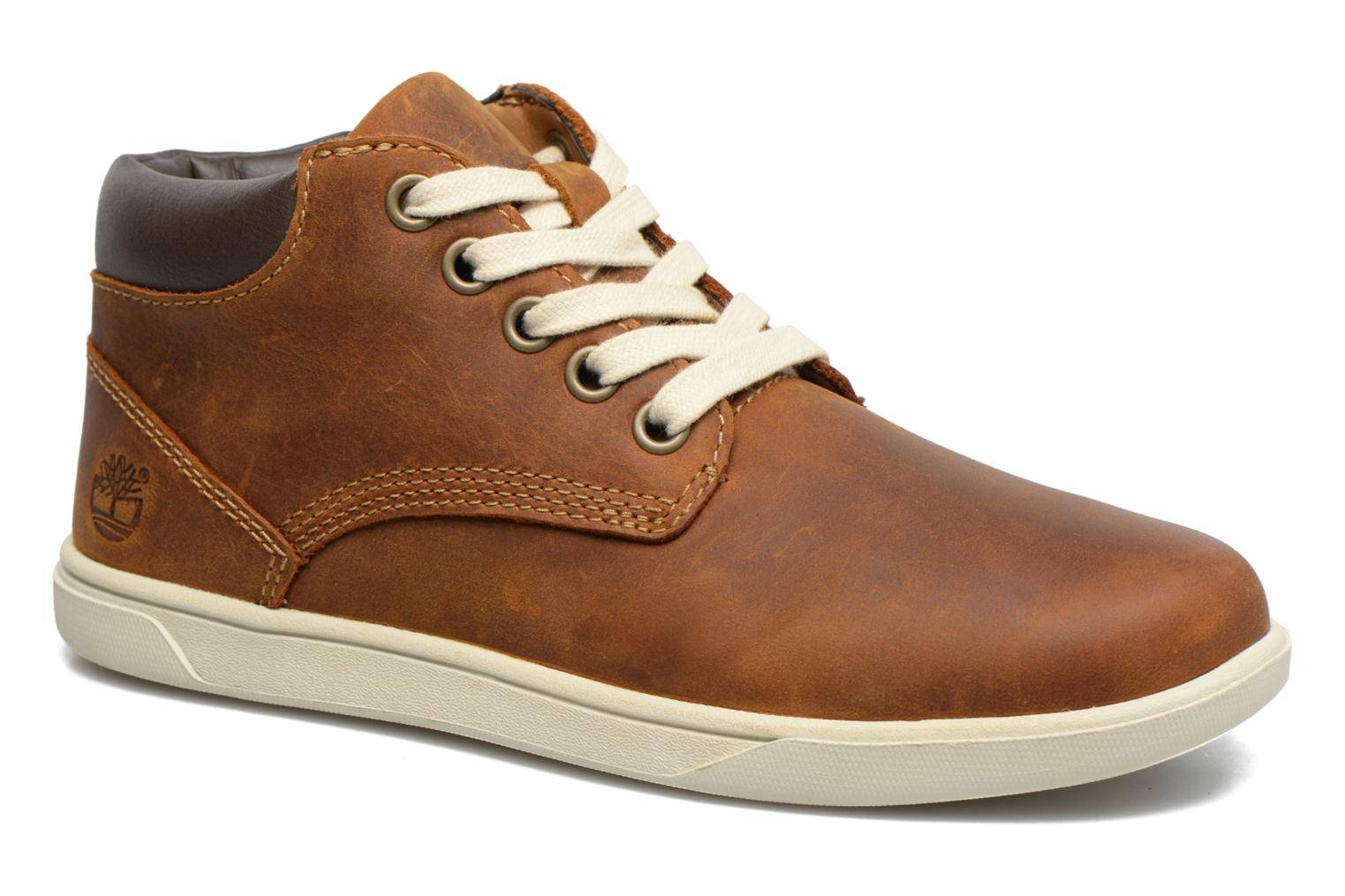 Timberland Groveton Leather Chukka - Chaussures à lacets Homme, Marron