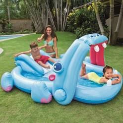 INTEX Aire de jeux hippo intex