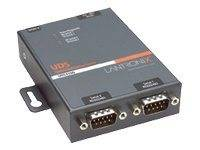 Lantronix device server uds2100 two port serial (rs232/ rs422/ rs485) to ip e...
