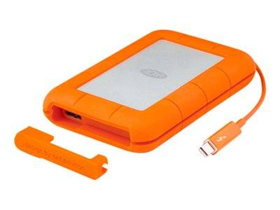 Lacie rugged thunderbolt - disque dur - 1 to - externe (portable) - usb 3.0 /...