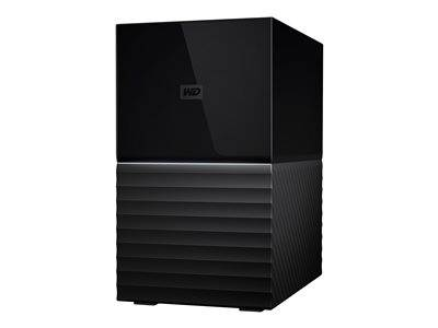 Western digital Wd my book duo wdbfbe0080jbk - baie de disques - 8 to - 2 baies - hdd 4 to x ...
