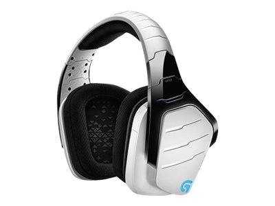 Logitech gaming headset g933 artemis spectrum - snow edition - système de cas...