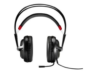 Hp inc. Hp omen headset with steelseries - casque - pleine taille - jack 3,5mm - noir...