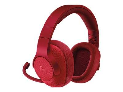 Logitech gaming headset g433 - casque - canal 7.1 - pleine taille - rouge