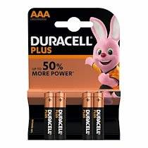 Duracell Blister 4 piles duracell plus power aaa - lr03