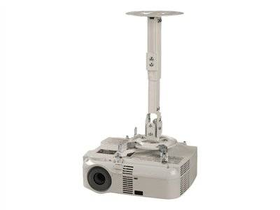 Peerless paramount ceiling/wall projector mount with adjustable extension ppa...