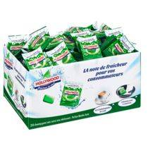 Chewing gum hollywood green fresh - carton de 250 sachets individuels