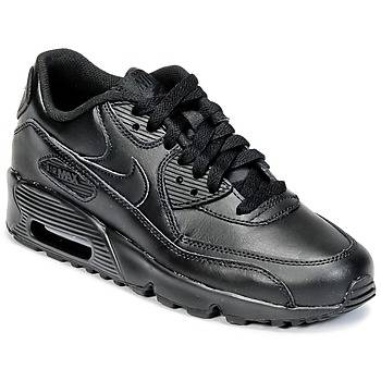 Nike Chaussures enfant (Baskets) AIR MAX 90 LEATHER GRADE SCHOOL