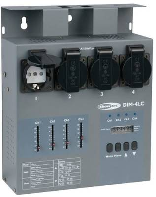 Showtec DIM-4LC 4-Ch. Dimmer/Switch