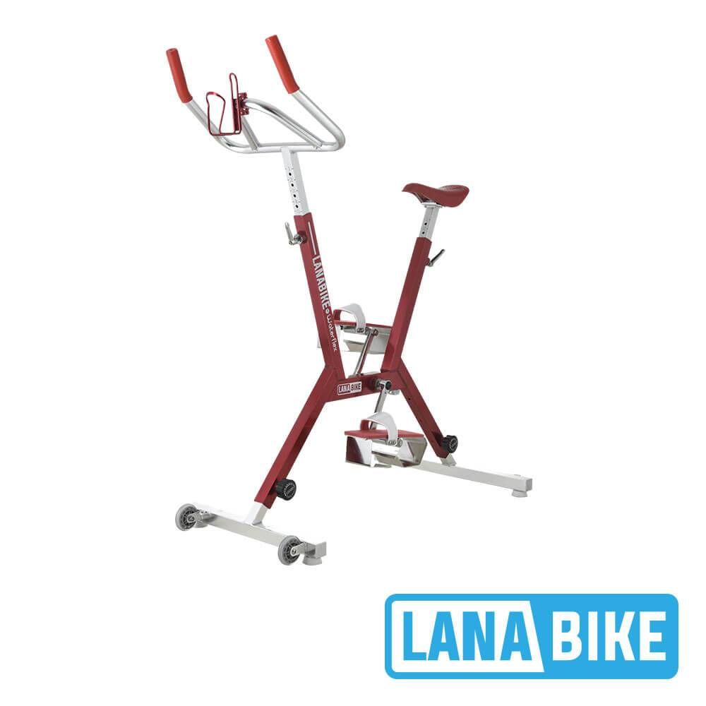 Waterflex Vélo pour Piscine Waterflex Lanabike Rouge