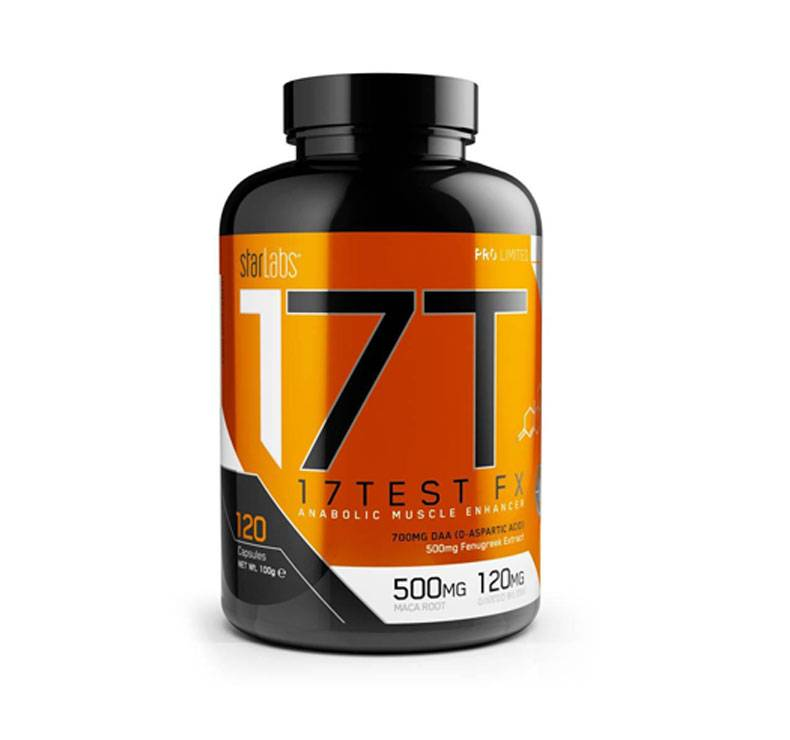 StarLabs Pro Limited Series 17 Test FX ( Testosterone Formula) - 120 gélules