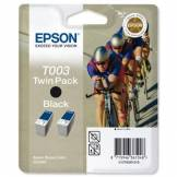 Epson T0030 Double Pack d'origine Noir pour Stylus Color 900 980