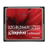Kingston Technology Kingston CF/32GB-U2 Ultimate Carte compact flash 266x 32 Go