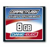 Dane-Elec Dane Elec Carte mémoire Compact Flash High Speed 8Gb