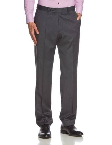 Roy Robson S-304200 - Pantalon - Relaxed - Homme - Gris (Anthrazit 208) - One size (Taille fabricant: 26)
