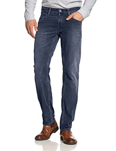 Mustang Oregon Tapered - Pantalon - Tapered - Homme - Bleu (blue graphite 537) - W33/L36 (Taille fabricant: 3336)