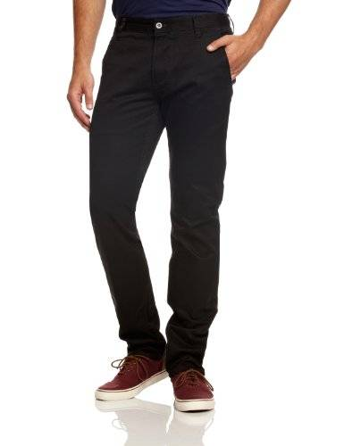 Dockers - Pantalon - Tapered - Homme - Noir (Black 0005) - FR: 29 (Taille fabricant: 29)