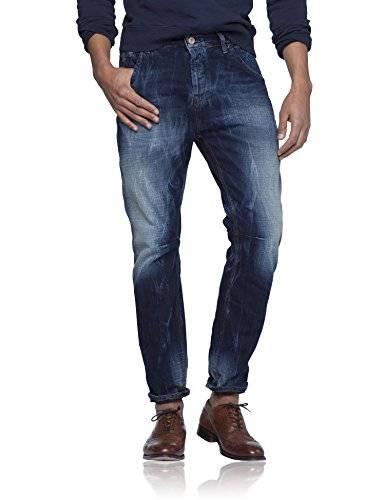 Scotch & Soda Brewer- Raging Blue - Jeans - Relaxed - Homme - Bleu (denim blue 48) - W34/L32 (Taille fabricant: 34/32)