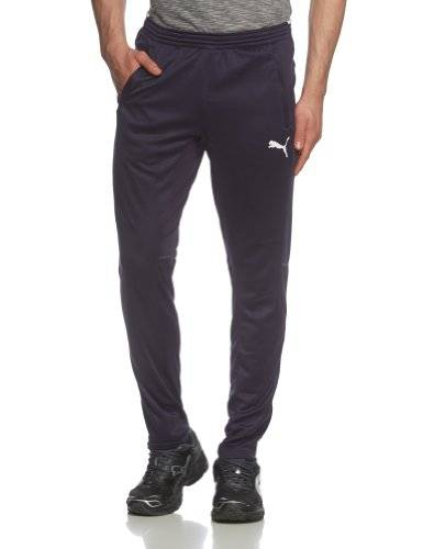 Puma Training Pantalon Homme New Navy/White FR : XL (Taille Fabricant : XL)