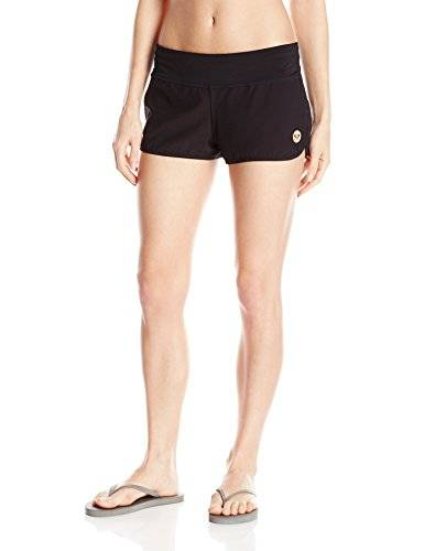 Roxy - Short - Femme - Noir - Small (Taille fabricant: Small)