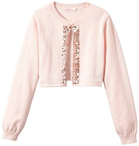 Billieblush U15216 - Gilet - Fille - Rose (OEillet) - FR: 12 ans (Taille fabricant: 12 ans)
