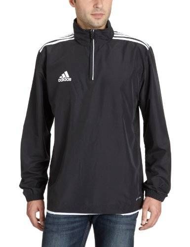 adidas Core 11 Pull Homme Noir/Blanc FR : L (Taille Fabricant : 7)