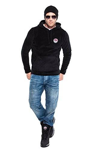 Nebulus Iho Sweat-shirt Homme Noir FR : L (Taille Fabricant : L)