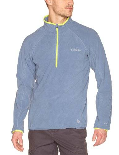 Columbia Summit Rush Pull 1/2 Zip homme Mountain FR : S (Taille Fabricant : S)