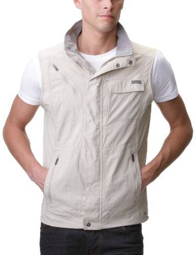 Columbia Silver Ridge Gilet sans manches Homme Fossil FR : M (Taille Fabricant : M)