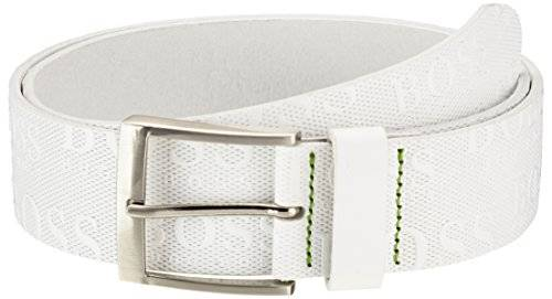 Boss Green - Ceinture - Homme - Blanc (White 100) - FR: 95 cm (Taille fabricant: 95)