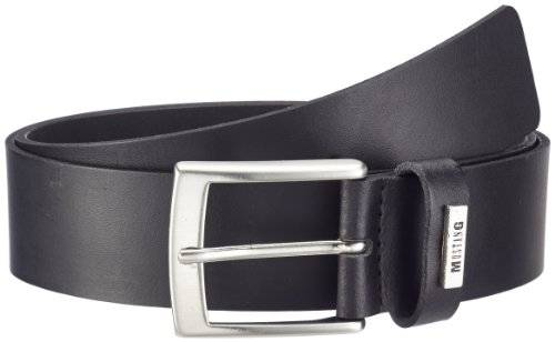 Mustang - Ceinture - Homme - Noir (Black 440) - FR : 97 (Taille fabricant : 95)