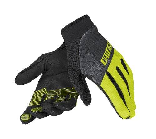 Dainese Guanto Rock Solid Gants Enfant Black/Fluo Yellow/Black FR : M (Taille Fabricant : M)