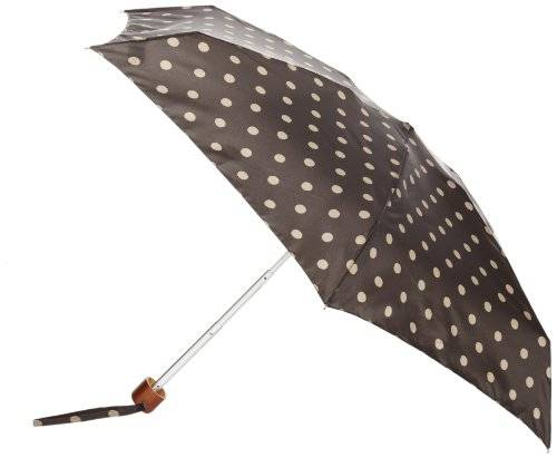 Fulton Cath Kidston By Fulton - Parapluie - Femme - Multicolore (Charcoal Spot) - FR : Taille Unique (Taille fabricant : One Size)