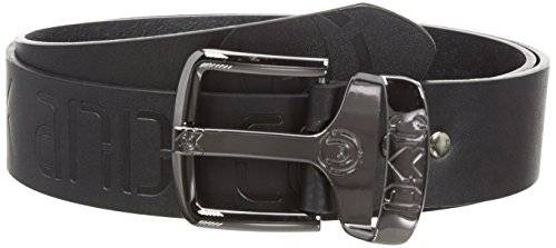 Duck And Cover Debossed - Ceinture - uni - Homme - Noir - FR: 105 (Taille fabricant: Large)