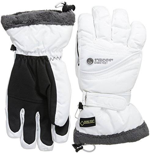 Racer Silvery 2 Gants Femme Blanc FR : S (Taille Fabricant : 3 S/7)