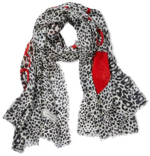 Codello 32103704 - Foulard - Femme - Blanc (Off-White 17 17) - Taille unique (Taille fabricant: one size)
