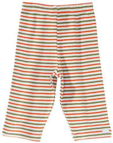Lana Naturalwear Lana Natural Wear - Leggings - Mixte bébé - Rouge (1034 Ringel Ted) - FR: 1 mois (Taille fabricant: 50/56)