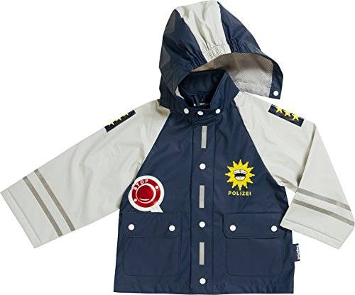 Playshoes Police Coupe Pluie Taille 128 cm