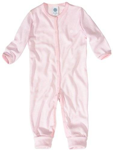 Sanetta Baby Mädchen Schlafoverall 220453, rosewater, 68 -  Rose - Rose - 1 mois