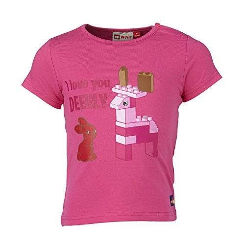 LEGO Wear - T-shirt - Manches courtes Fille - Rose - Rosa (PINK 458) - 9 mois