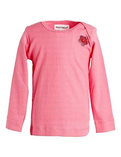 Phister & Philina - T-shirt à manches longues - Bébé fille - Rose (Morning Glory Morning Glory) - FR: 9 mois (Taille fabricant: 74)