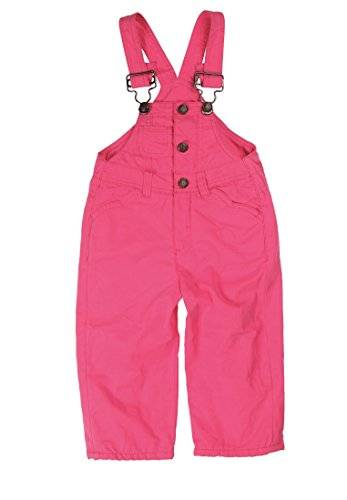 Kanz Latzhose 1444102 - Salopette - uni - Fille - Rose (hot pink pink 2610) - FR: 3 ans (Taille fabricant: 98)