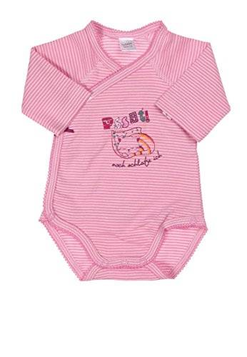 Kanz - Body - Bébé fille - Rose (Y/D Stripe Multicolored 0001) - FR: 1 mois (Taille fabricant: 50)