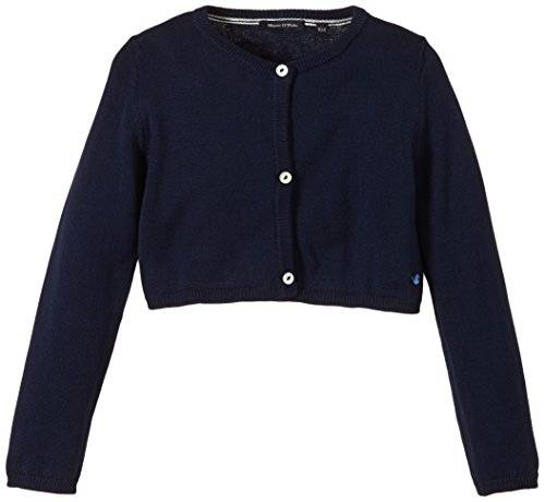 Marc O' Polo Junior - Gilet - Fille - Bleu (Night Blue 50025) - FR: 3 ans (Taille fabricant: 98)