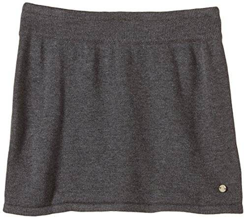 Marc O' Polo Junior - Jupe - Fille - Gris (Dark Grey Mel. 1720) - FR: 24 mois (Taille fabricant: 92)