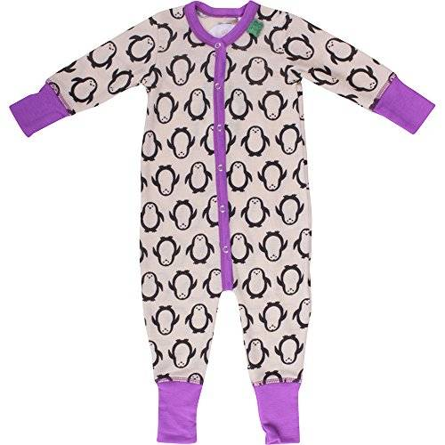 Fred'S World By Green Cotton - Grenouillère - Bébé fille - Violet (Purple 018325001) - FR: 3 ans (Taille fabricant: 98)