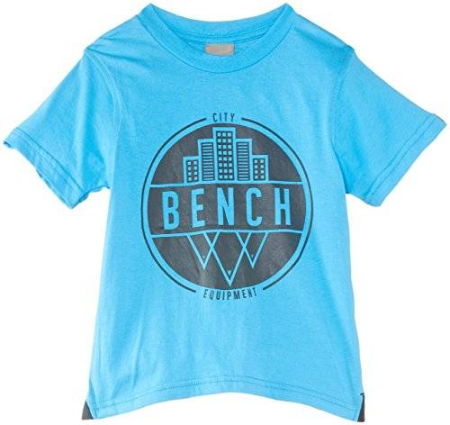 Bench Bench City Badge - T-shirt - Garçon - Bleu - FR: 3 ans (Taille fabricant: 3-4 years)