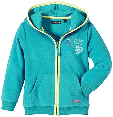 Blue Seven - Blouson - Fille - Turquoise (Petrol 674) - FR: 24 mois (Taille fabricant: 92)